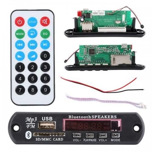 Модуль MP3 (№66451E = SPM07, ПИТАНИЕ 5В) 80x50mm с Bluetooth (в а