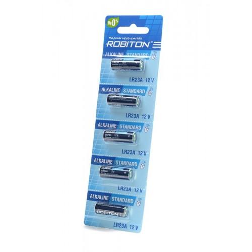 Элемент питания Robiton Standart R-23A-0-BL5 23A (0% Hg) BL5 (цен...