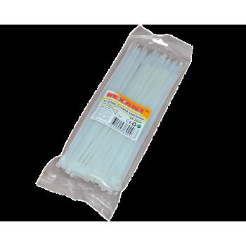 Стяжка 250+4,0 мм (100 шт) белая