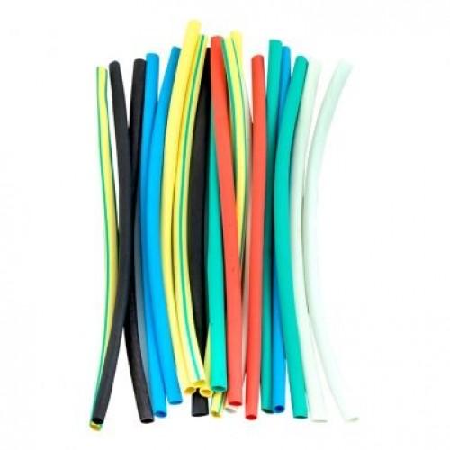 Термоусаживаемая трубка 2/1  набор (набор 7 цветов по 3 шт, 10 см