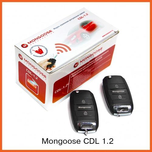 MONGOOSE CDL- 1.2 Блок центр.замка с ПДУ (без сил. выхода на бага
