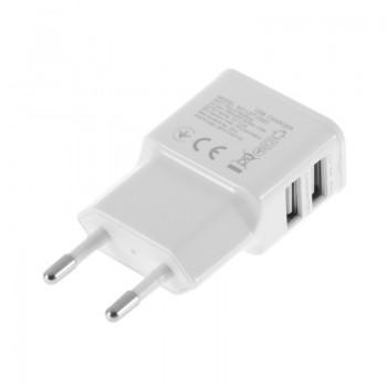 Зарядное устройство Samsung 2 USB 2А LED