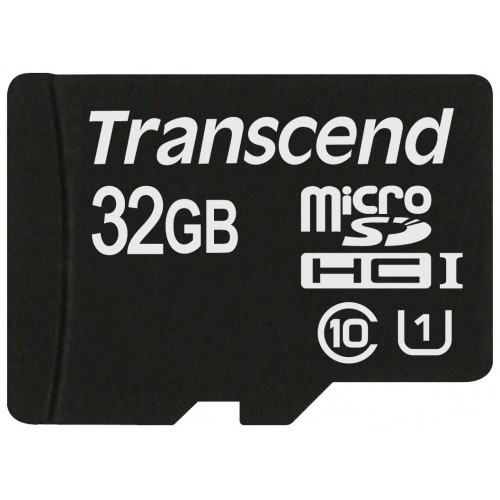 Карта памяти Карта памяти TRANSCEND 32 Гб Class 10  без адаптра