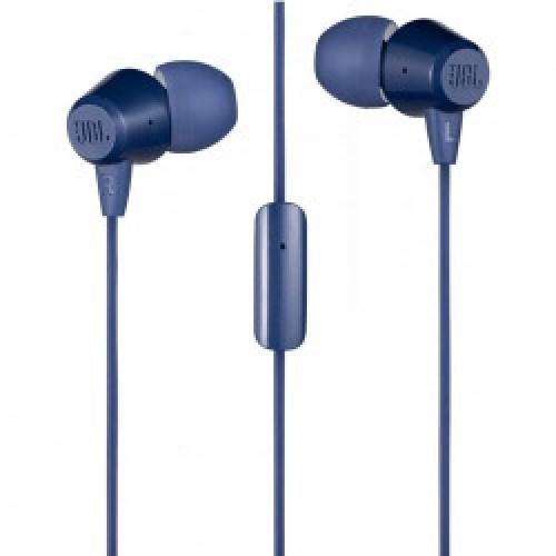 Наушники JBL C50HI BLU, синие