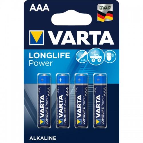 Элемент питания Varta LR03  Alkaline (4BL) (40) (200) High Energy