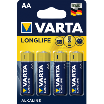 Элемент питания Varta LR06 Alkaline (4BL)(40)(200) Longlife