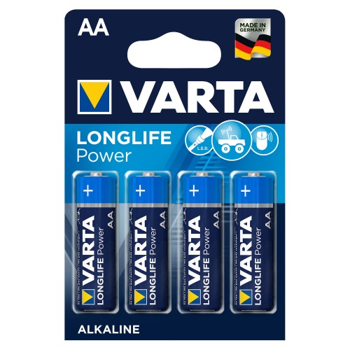 Элемент питания Varta LR6  Alkaline (4BL) (80) (400) High Energy/