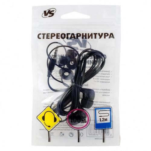 Наушники Versus VS-001  внутриканальные черные