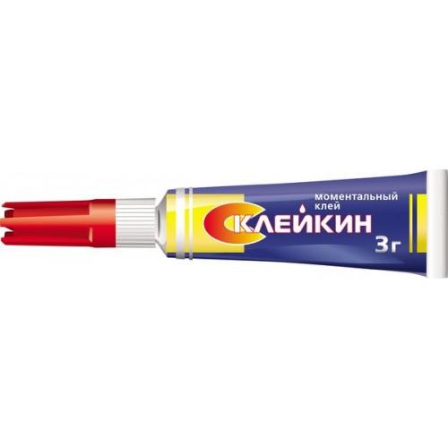 Клей Склейкин Моментальный клей 3*BL-12 (12/120/600)