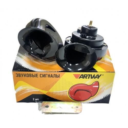 Звуковой сигнал Artway AW-005, 12В, черный цвет, без реле