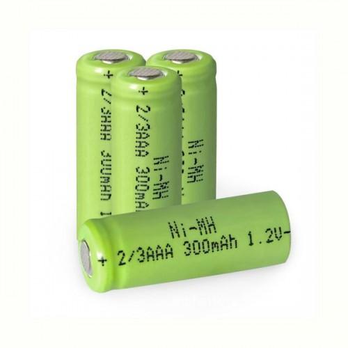 Аккумулятор для садовых светил. 2/3АAА (300mAh, 1,2v)